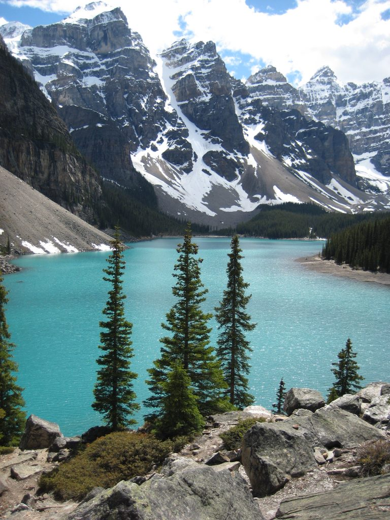 7.Tag Lake Louise, Moraine Lake and Trans Canada Highway (280)