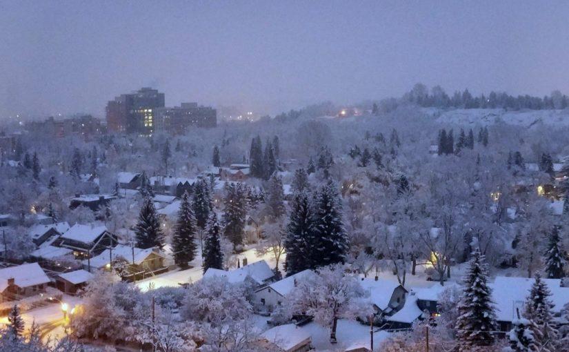 Leise rieselt der Schnee – es wird Winter